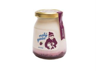 Kravský černicový jogurt 200g